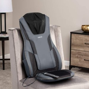 HoMedics 高级指压加热按摩座椅垫 可连手机APP