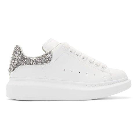 银色闪片小白鞋