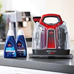 折后€144 附赠2罐清洁剂BISSELL 便携式深层织物清洗机 各种污渍印记轻松洗