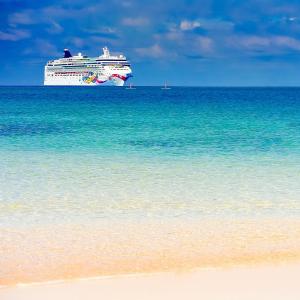 $349起  同舱第三四名乘客免费诺唯真游轮 4晚巴哈马 8月迈阿密往返  酒水免费 + 额外消费额度