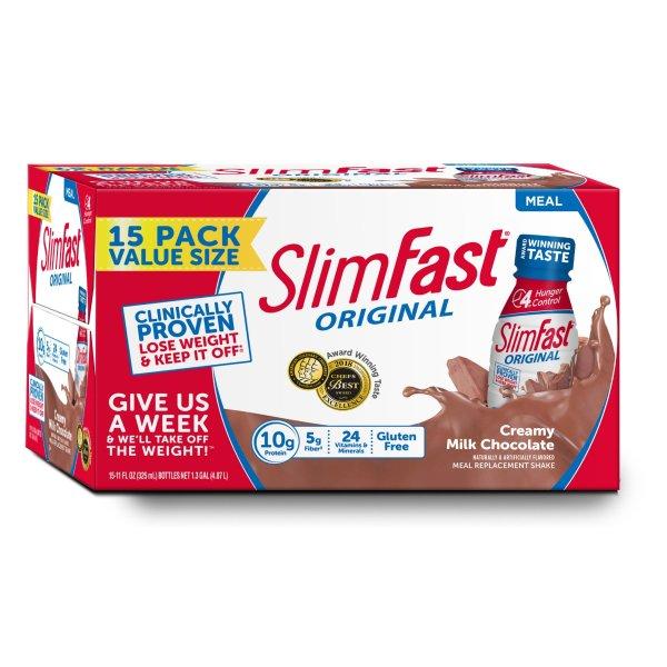 高蛋白巧克力奶昔 15支装, 11 fl. oz