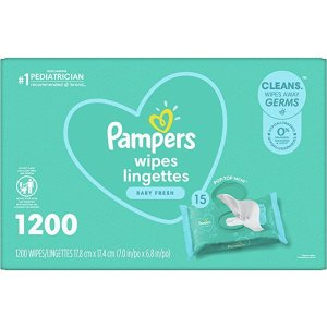 Pampers 儿童湿巾 1200抽
