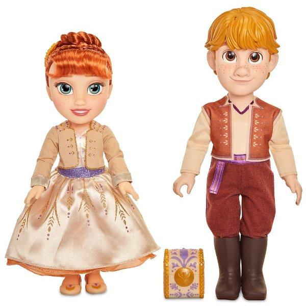 Anna & Kristoff 玩偶