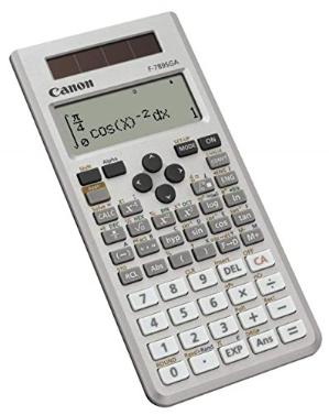 $17.99限今天:佳能Canon F-789SGA 科学函数计算器 银色