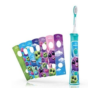 Amazon Philips Sonicare for Kids Bluetooth Connected Rechargeable Electric Toothbrush