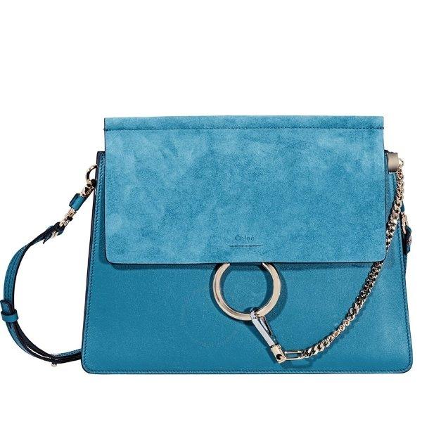 Faye 蓝色包