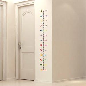 售价€8.99 墙面友好ufengke 儿童量身高贴纸 50-170cm 重复使用不留痕迹