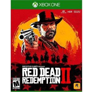 $44.99(原价$59.99)《荒野大镖客2 救赎》Xbox One 实体版