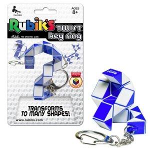 Rubik Twist Key Ring