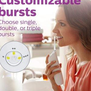 $79.95包邮(原价$99.99)Philips Sonicare 便携喷气式牙线 口气清新 牙齿健康