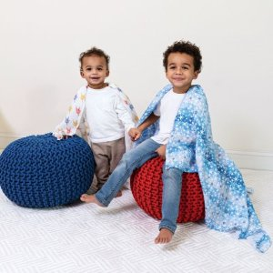 ADEN + ANAISessentials cotton muslin swaddle 2-pack