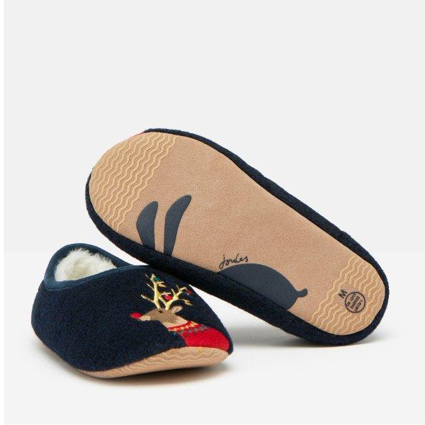 儿童刺绣室内鞋