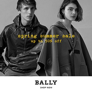 Up to 50% Off + Extra 15% offSemi-Year Sale @ Bally