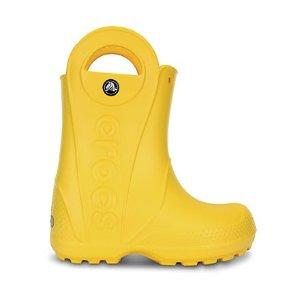 Crocs两双$45带手把儿童雨靴,多色选