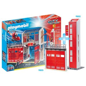 PLAYMOBIL®消防局套装
