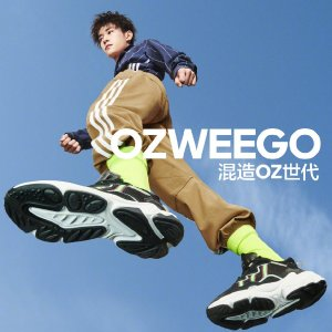 全场8折 易烊千玺带你混造OZ时代Adidas 新款Ozweego系列热卖 能代替Yeezy的潮鞋