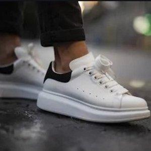 7.5折+包所有税费 收新款Alexander McQueen麦昆 $487到手价收经典小白鞋 多色可选