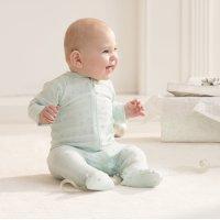 婴儿包脚连体服,3-6月