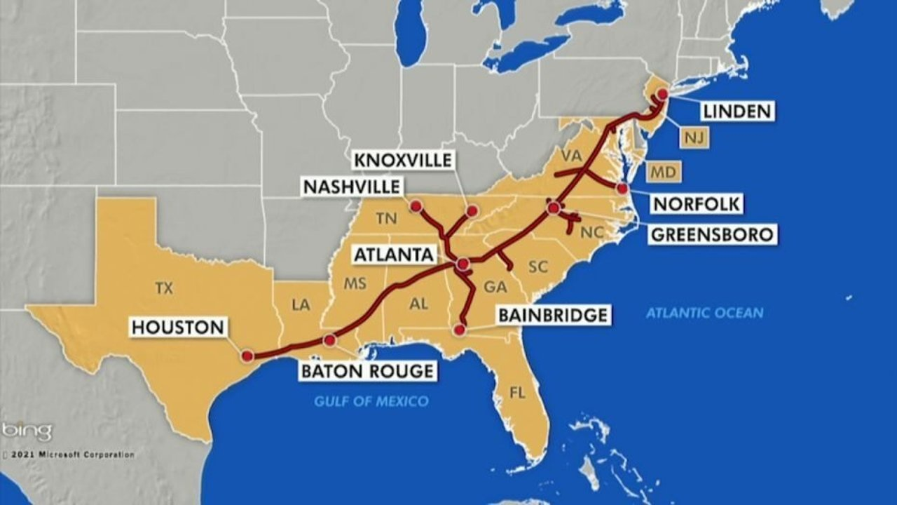 Colonial Pipeline输油管道周三傍晚重新启动,仍需要几天时间恢复正常