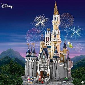 售价$499.99+免邮LEGO官网 迪士尼城堡71040终于补货