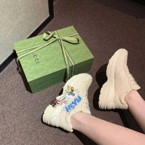 Gucci100%小牛皮唐老鸭老爹鞋