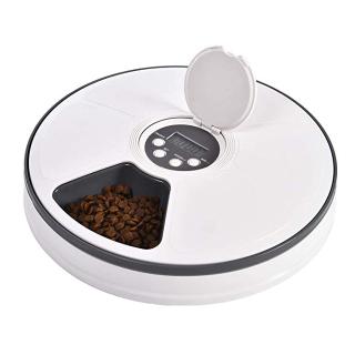 $35.99(原价$44.99)Ancaixin 宠物定时喂食器 可装6份餐