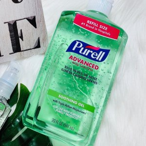 变相8折Purell 消毒杀菌芦荟免洗洗手液591毫升 舒爽清洁滋润保湿