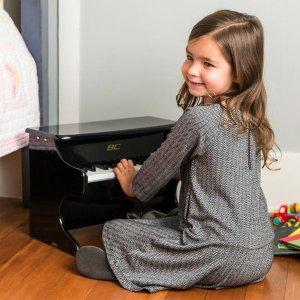 $37.99 (原价$62.99) 包邮Best Choice Products 25键木制小钢琴 多色可选