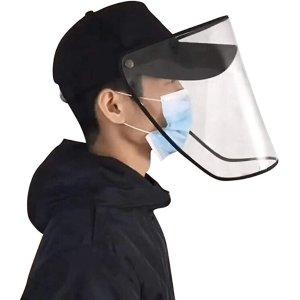 棒球帽防护面罩