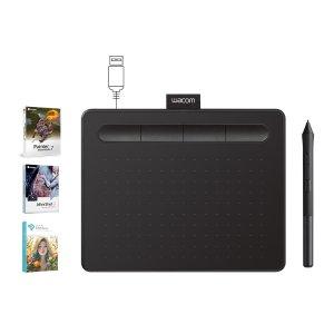 WacomIntuos Creative Pen Tablet - Small, Black Refurbished