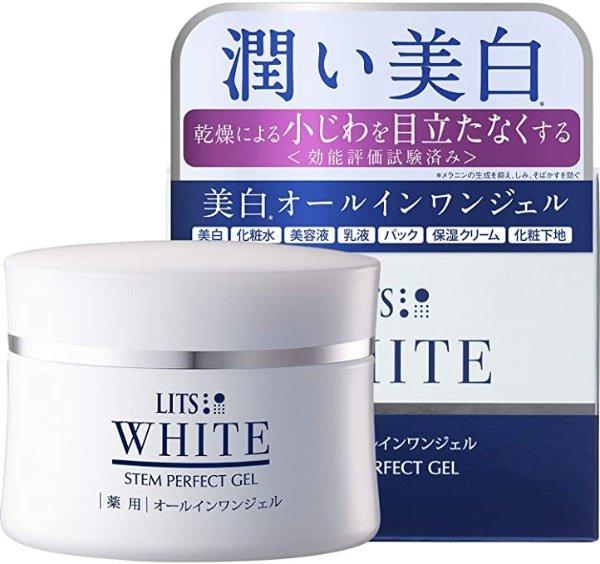 LITS WHITE 药用 美白 啫喱面霜 80g