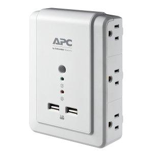 $12.66APC 6接口 1080焦耳防浪涌 墙面扩展插座