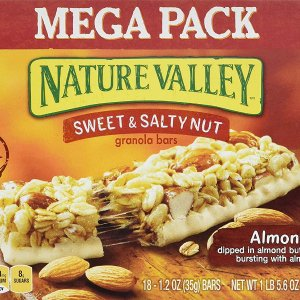 $4.04 + Free ShippingNature Valley Granola Bars, Sweet and Salty Nut,18 Count