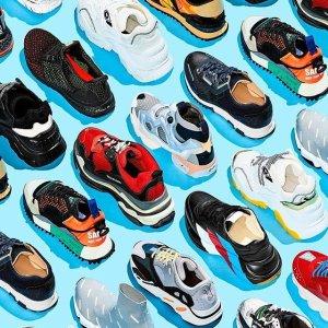 低至3折 Acne饼干鞋$300+HBX 人气Sneaker 麦昆、Loewe、BV、Puma、Nike等