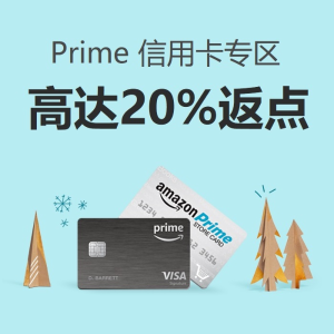 15% Back on Most ProductsAmazon Prime Card Bonus Point Back Offers