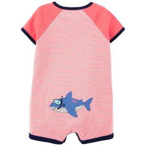 Carter's婴儿小鲨鱼爬服