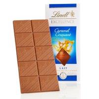 LINDOR 焦糖口吁木巧克力板