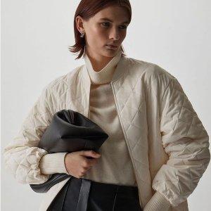 低至5折+首单额外9折COS 秋冬大衣外套专场 修身外套€35 羊毛针织外套€44