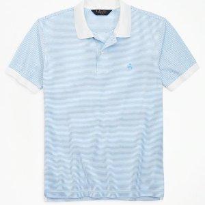 买3件享7折Brooks Brothers 男士Polo 衫、T恤等大促