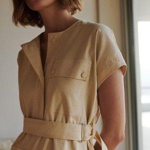 低至6折+免邮上新:Theory 夏季服饰特卖 丝绸上衣$100+ 丝绸西装$200+