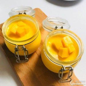夏日快手小甜品   教你做一步到位的芒果布丁