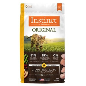 Up to 40% Off + Extra 50% OffToday Only: Instinct Dog and Cat Food @ Amazon.com