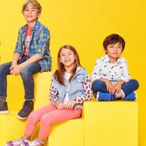 满40立减10Target.com 儿童服饰、鞋履等返校热卖