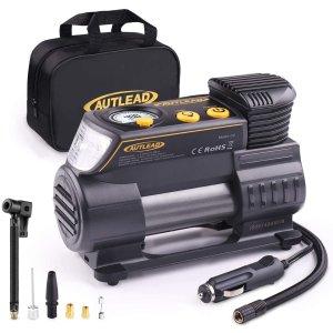 AUTLEAD C2 12V 便携式打气泵 带数字显示