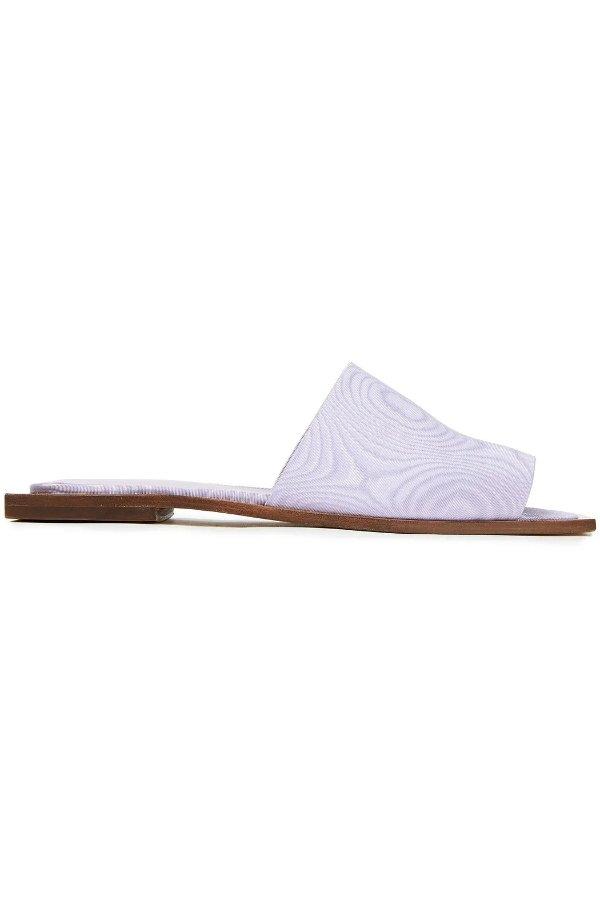 Moire香芋紫拖鞋