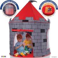 Play22 儿童骑士城堡,弹出式可折叠