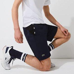 半价!€35就收 S-XXL都有货手慢无:Lacoste 男士大短裤 休闲好看有质感 夏天就差这一条!
