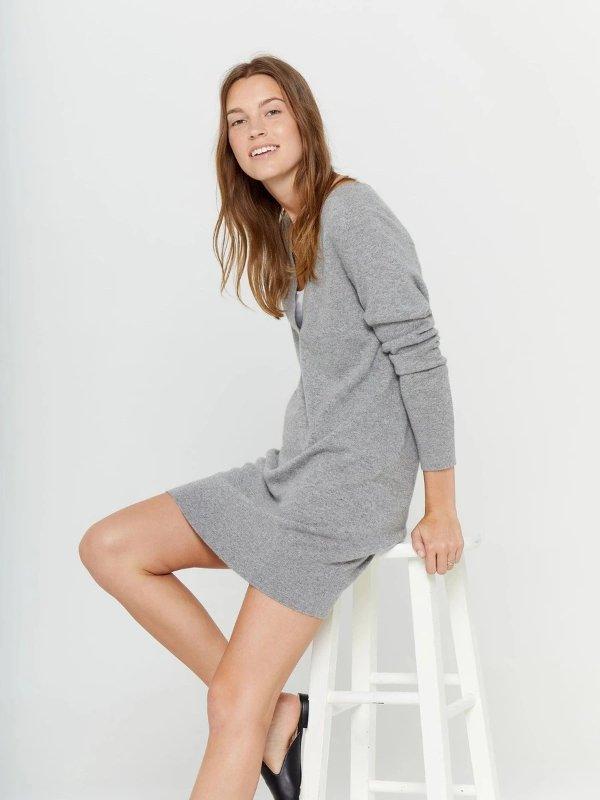 羊绒连衣裙