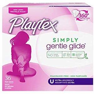 $6.44 包邮Playtex 无香型卫生棉条 36支装