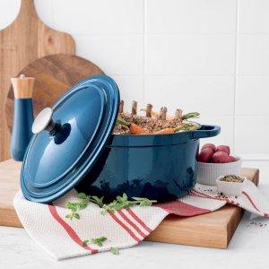 Cooks Signature 5.5-Qt. Round Enameled Cast Iron Dutch Oven @ JCPenney